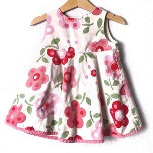 Gap BabyGirl Floral Dress Size 6-12 Months